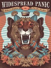 2015 Widespread Panic S/N Gig Poster 4/26 Baltimore by J. Helton Print Wsp Phish