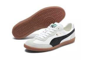 PUMA Men's Super Liga OG Retro Sneakers - White - Size US 9