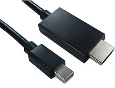 1 M Mini Displayport O Thunderbolt A Hdmi Cable Mac Para HD Tv Video + Audio