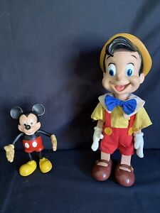 Pinocchio And Mickey Doll