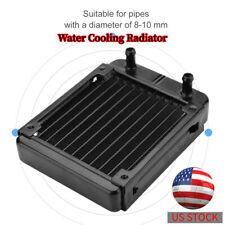 120MM Water Cooling Radiator 10 Tubes PC Computer CPU Liquid Heat Exchanger