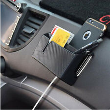 STORAGE BOX Car Dash Card Cable Phone Holder Bag Organizer Interior Accessories
