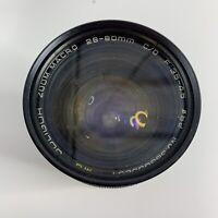 Soligor Macro Zoom 28-80mm f/3.5-4.5 Canon FD Lens Olympus OM Mount w/ Bag