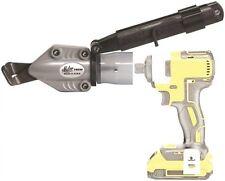 Malco TSCM Corrugated Metal Turbo Shear Drill Attachment