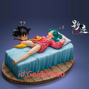 DIM Studio Goku And Bulma On Bed Dragon Ball Resin Model Pre-order Anime Figure