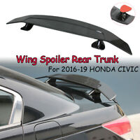 132cm Universal ABS Rennsport Heckflügel Heckspoiler Spoiler für  HONDA CIVIC