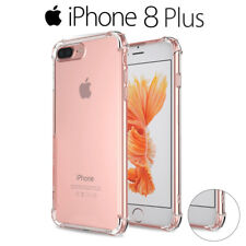 Funda Gel Silicona Transparente Proteccion Antigolpes para iPhone 8 Plus