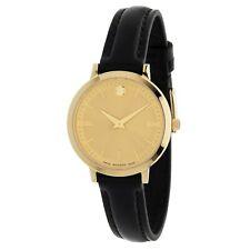 Movado 0607158 Women's Ultra Slim Gold Quartz Watch