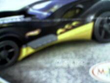 Ü Ei Auto Rennwagen schwarz gelb Hot wheels MPG TR 129