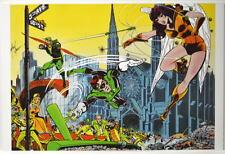 GREEN LANTERN & GREEN ARROW Poster DC Mike Grell art