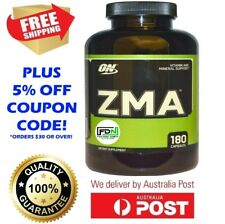 ON Optimum Nutrition ZMA 180 Capsules Night time Recovery Zinc NEW SIZE BOTTLE