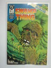 Swamp Thing #67 with Hellblazer preview 8.0 VF (1987 Vertigo)