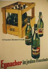 Original Plakat - Egnacher Süssmost