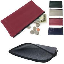 3 Pack Organizer Pouch Set - Bank Bags Purse Insert Wallet Cash Coins Cards USBs