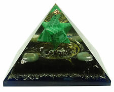 Multi-Pierre pyramide Merkaba fleur de vie générateur de pierres précieuses