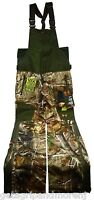 New w/ Tags! UNDER ARMOUR HUNTING BIBS Cold Gear MOSSY OAK Scent Control SIZE: S