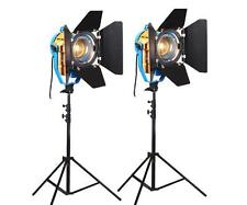 Nicefoto 2 x CD-1000ws 3200K-5500K LED Studio Fresnel Video Light KIT