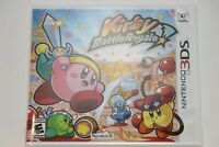 Nintendo 3DS 2DS KIRBY BATTLE ROYALE VIDEO GAME NEW SEALED SHIPS SAME DAY
