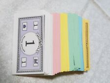 Original Monopoly Board Game Replacement Money From Deluxe Game