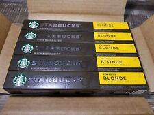 Lot of 50 capsules Starbucks Blonde Espresso Roast by Nespresso FREE SHIPPING