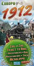 Days of Wonder Ticket to Ride Europa 1912 Expansion (New)