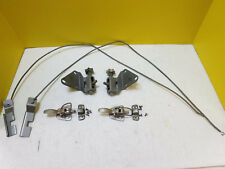 65 66 67 DATSUN ROADSTER COMPLETE TOP LATCHES - TENSIONERS - LONG SPRINGS