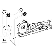 Festool Riemenscheibe EHL 65 ET-BG -Ersatzteil- 499674 für Einhandhobel Hobel