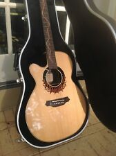 REDUCED PRICE! RARE! MINT! LEFT HANDED TAKAMINE LTD EDITION 2000 ACOUSTIC GUITAR