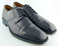 240745 PFi60 Men's Shoes Size 8 M Black Leather Made in Italy Johnston Murphy