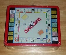 MONOPOLY LUNCHBOX COLLECTOR'S TIN CONTAINING  MONOPOLY ICON-SHAPED COOKIES