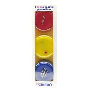 GRABBIT 3 Mini Magnetic Pincushions