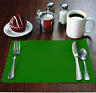 """500 Raise® Hunter Green Paper Placemats,Scalloped,10""""x14"""" place mats, Disposable"""