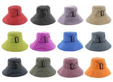 Whiteley Fischer April Ladies Bucket Rain Hat in a choice of colours C501