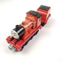 Thomas & Friends Talking Light Up James Train Engine Tender Car, Take n Play