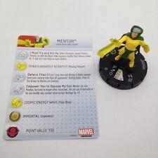 Heroclix Guardians of the Galaxy set Mentor #058 Super Rare figure w/card!