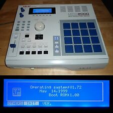 CUSTOM Akai MPC 2000 Blue PADS/LEDs MAXED RAM Drum Kits OS.V.1.72 FULLY SERVICED
