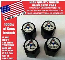 AMC Hornet American Motors Black Billet Valve Stem Caps -Very Nice! Unique!