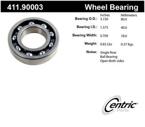 Rr Axle Bearing Centric Parts 411.90003