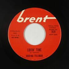 Northern Soul 45 - Bertha Tillman - Lovin' Time - Brent - mp3