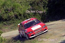 Freddy Loix Mitsubishi Lancer Evo WRC Tour De Corse Rally 2001 Photograph 1