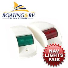 Traditional Nav Lights Port/starboard White housing - Boat Lighting Navigation
