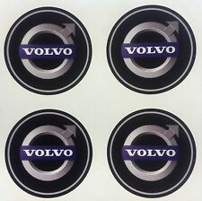 4x 45 mm fits VOLVO wheel STICKERS center badge centre trim cap hub alloy