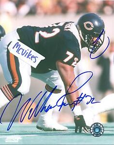 William Perry 1985 Chicago Bears Autographed Signed 8x10 Photo COA #2