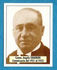 BOLOGNA 96-97 -Ediland- Figurina-Sticker n. 144 -SBARBERI 1921/22-PRESIDENTI-New