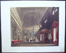 "W. H. Pyne ""The Saloon Buckingham House"" 1818 Engraving"
