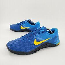 Nike Metcon 4 XD Team Royal Amarillo Training Shoes BV1636-474 Men's Size 10  🔥