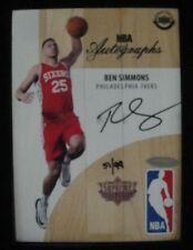 BEN SIMMONS  2016-17 UPPER DECK SUPREME AUTO LOGO MAN  PHILADELPHIA 76ERS  RC
