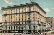 Claypool Hotel Indianapolis IN Vintage Postcard