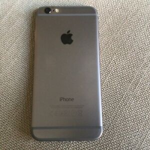 iPhone 6 128gb Grey silver Very Good condition Good screen unlocked