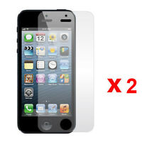 2 Pcs Anti-Glare Matte Front Screen Protector Guard For Apple iPhone 5 5S 5C